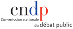 Logo Commission nationale du débat public (CNDP)
