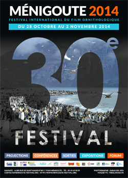 Affiche 30ème Festival International du Film Ornithologique
